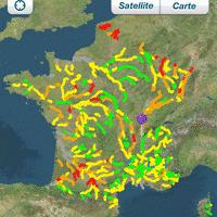 Une application pour suivre la qualité des rivières sur smartphone