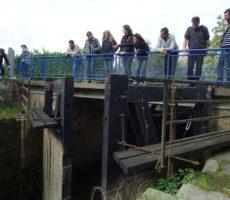 Ouverture porte à flots sur les marais nord Loire