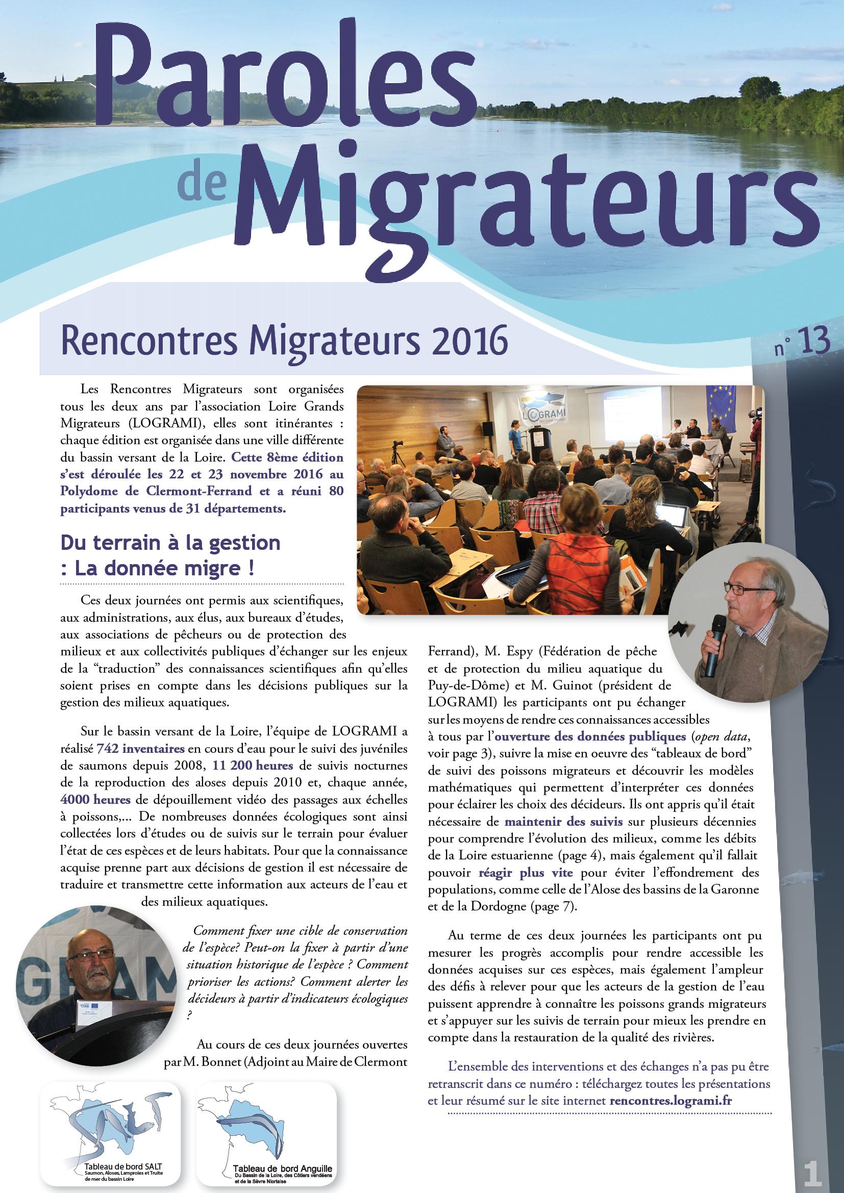Paroles de Migrateurs n°13