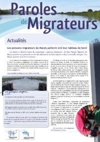 Paroles de Migrateurs n°15