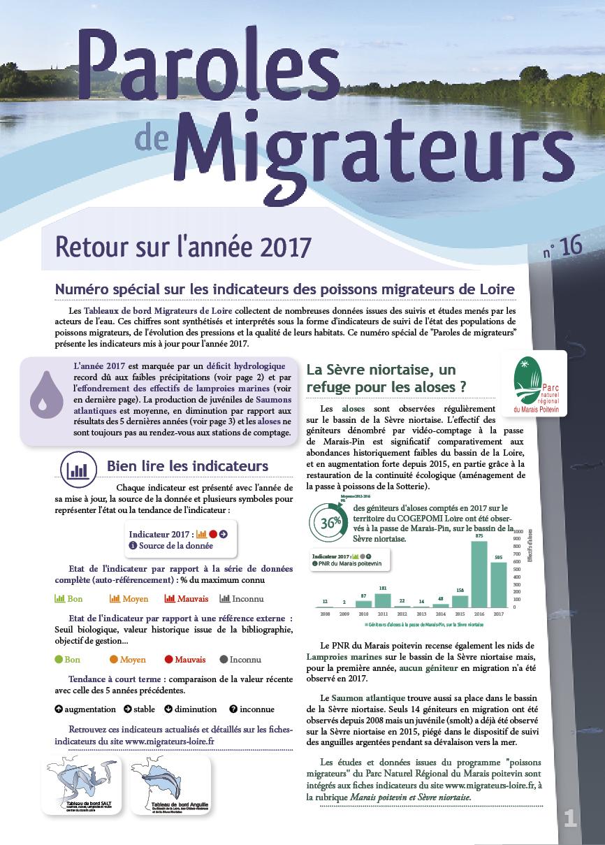 Paroles de Migrateurs n°16