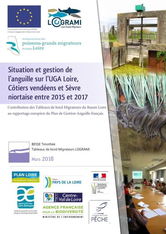 3ème rapportage du Plan de Gestion Anguille national