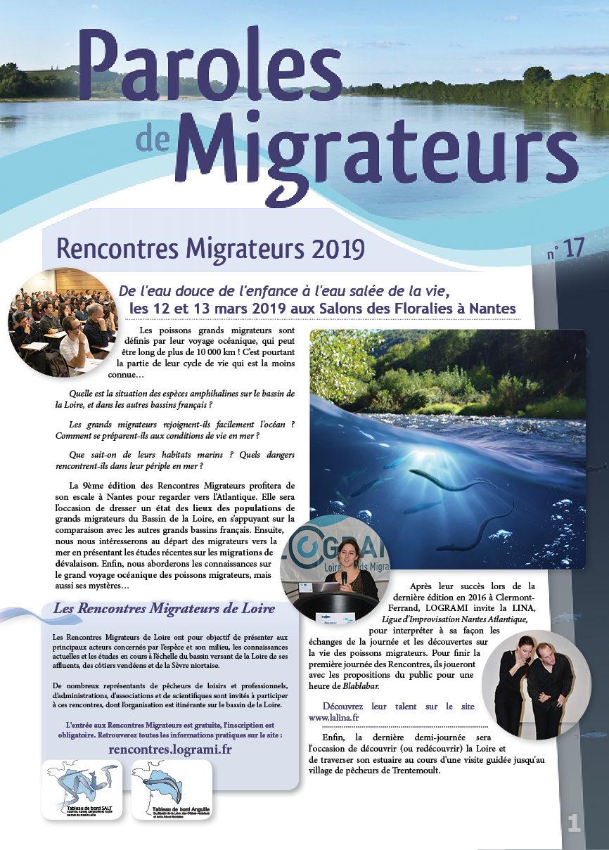 Paroles de Migrateurs N°17