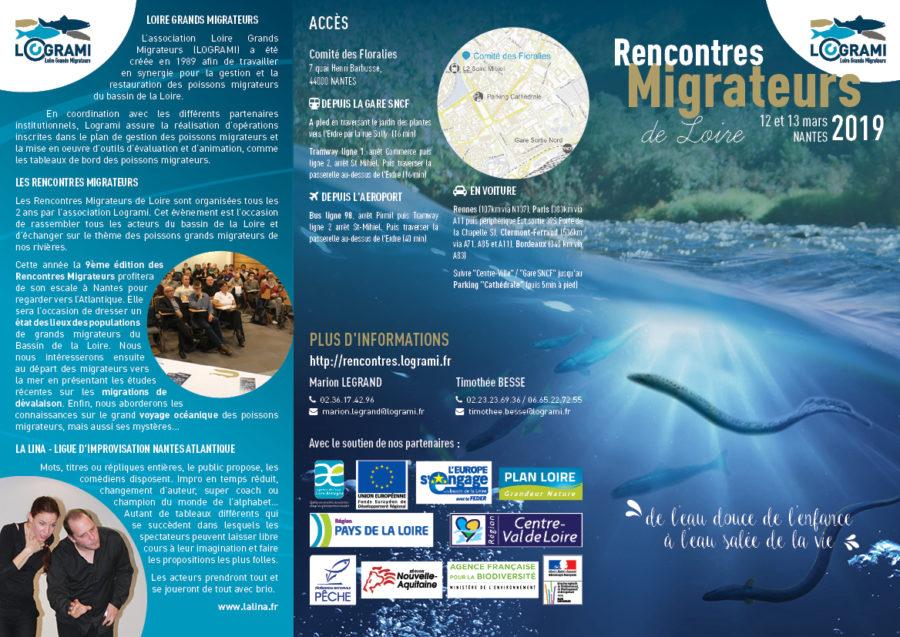 Programme des Rencontres Migrateurs 2019