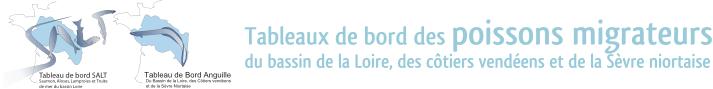 Tableaux de bord des poissons migrateurs du bassin de la Loire, des côtiers vendéens et de la sèvre niortaise