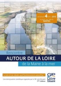 Affiche des 7èmes demi-journées scientifiques du GIP Loire-Estuaire