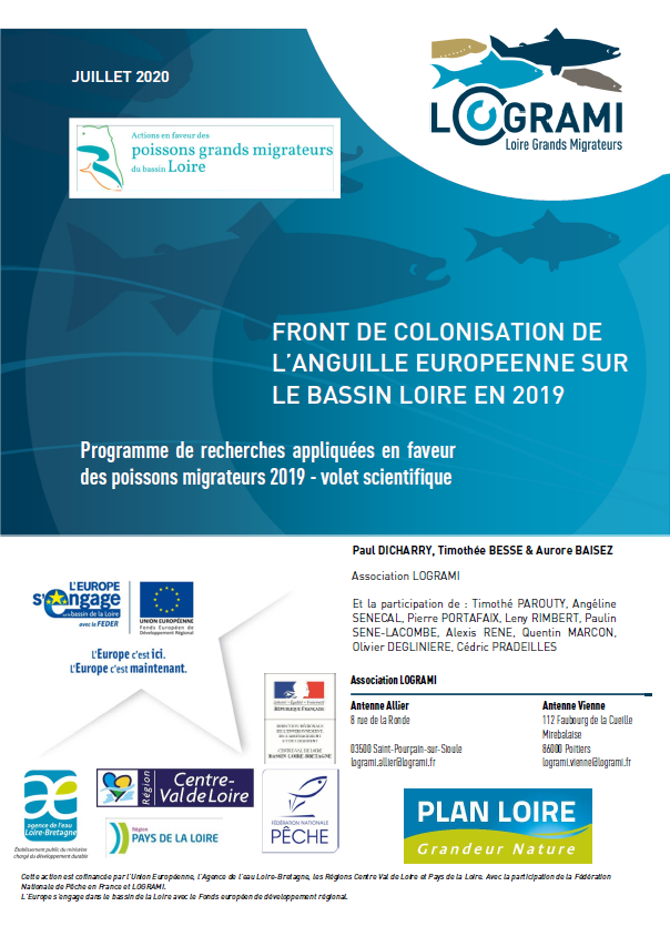 2020 Rapport Reseau Anguille Loire 2019